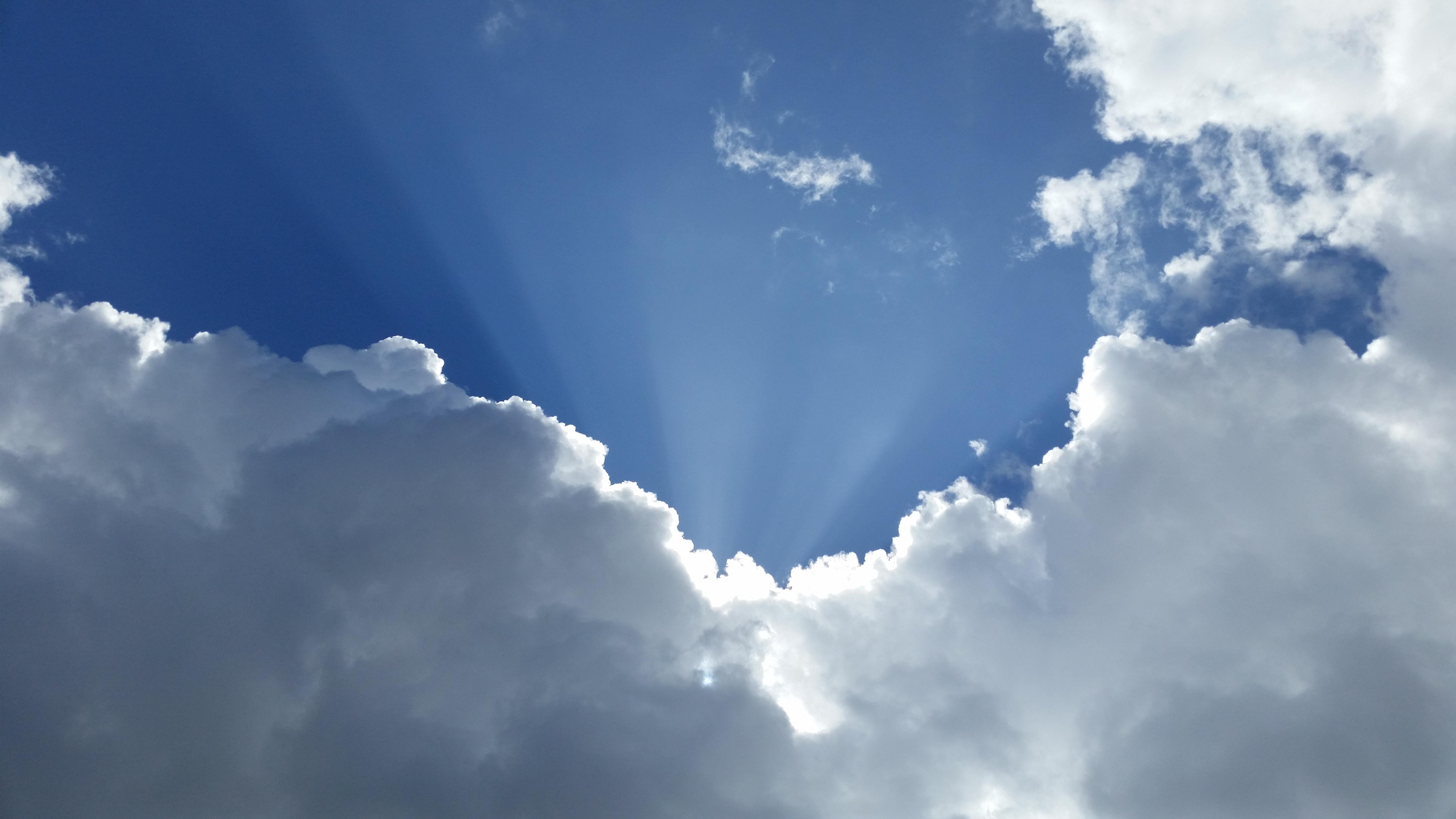 Blue Sky and Clouds Paul Csogi