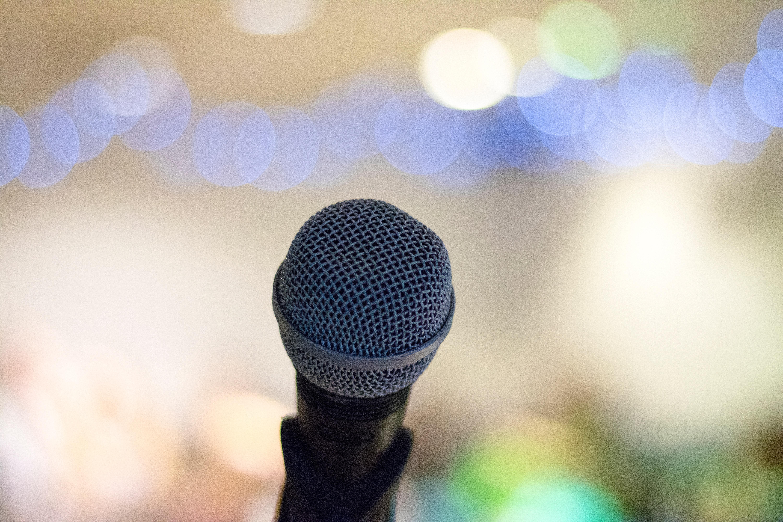 Microphone Elliot Sloman