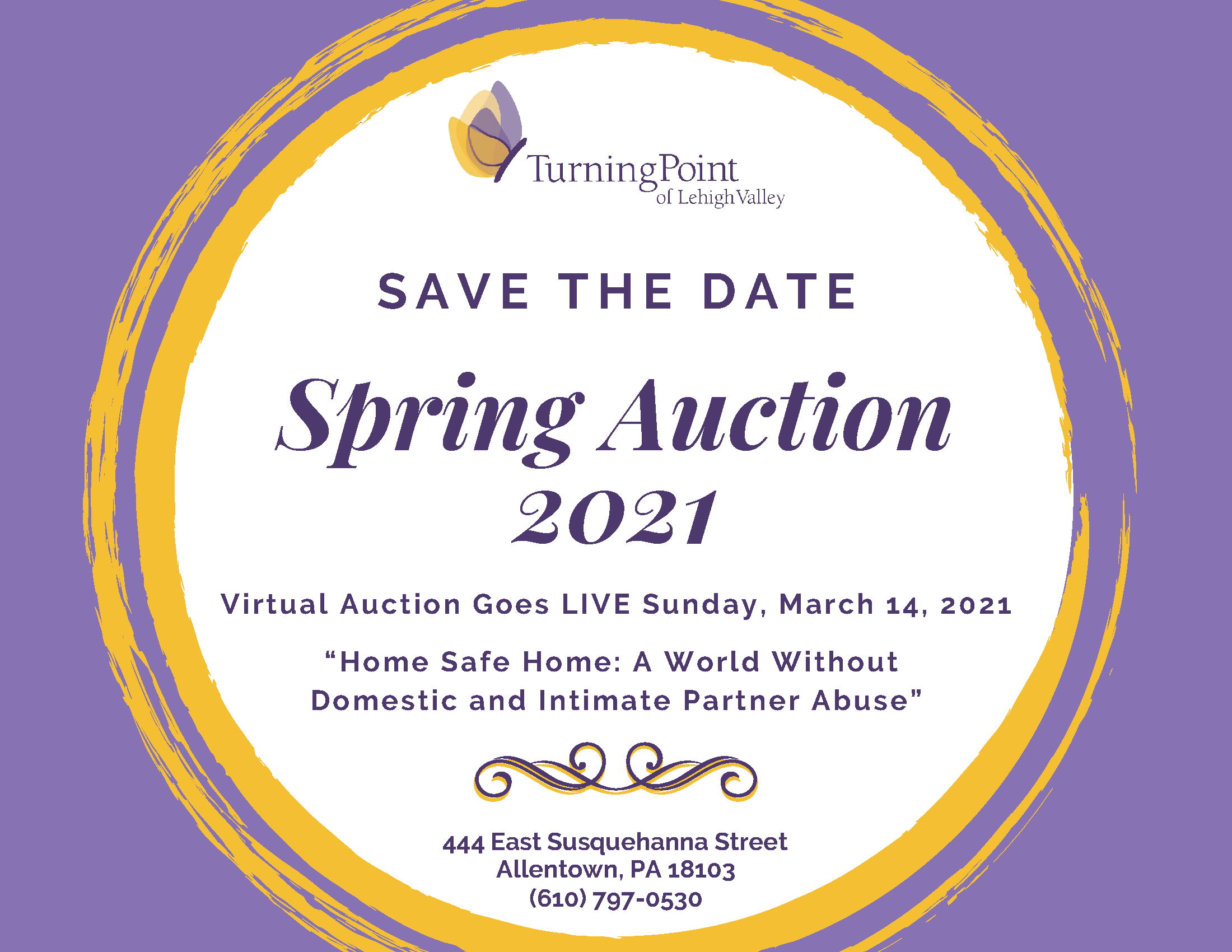 Spring Auction SAVE THE DATE